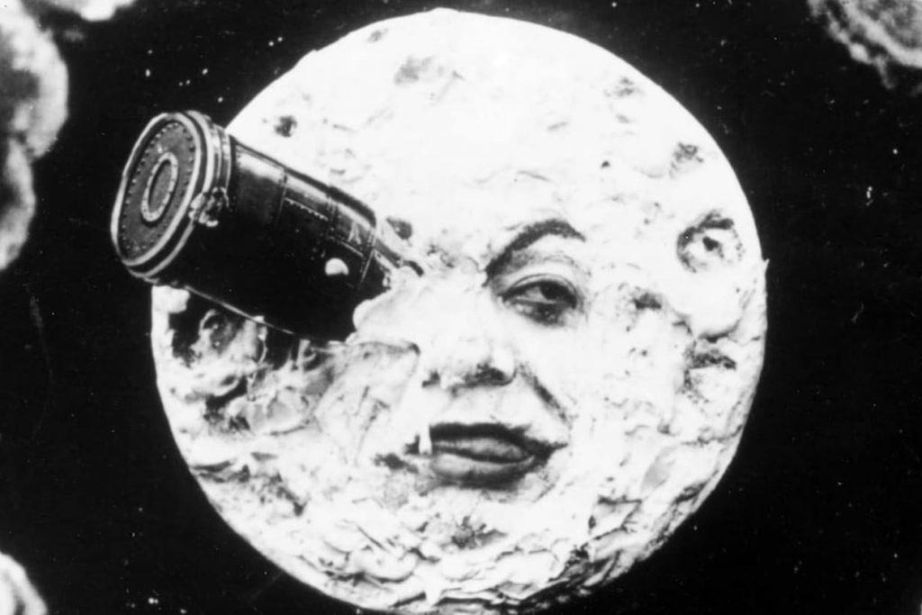 Fragment of Le voyage dans la lune