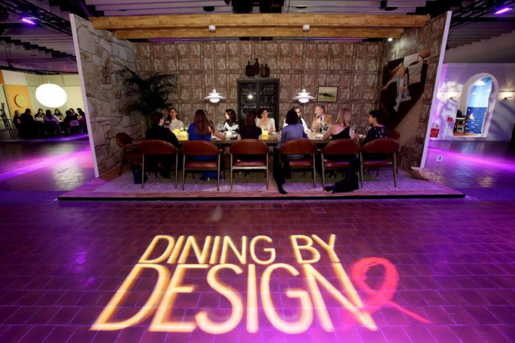 One of the Dining experiences at Diffa's Dining by Design.