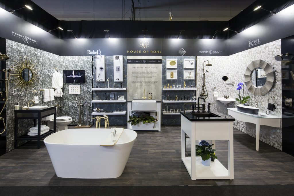 The Rohl stand at the Refresh exhibition.