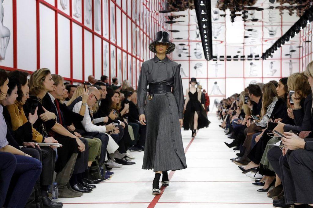 Fashion show at Paris Fashion Week 2019