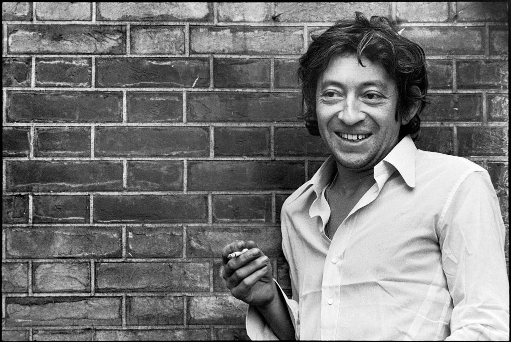 One of the three French artists that made a huge impact: Serge Gainsbourg