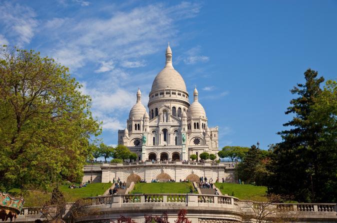 Basilique de Sacre Coeur in Montmartre, Paris