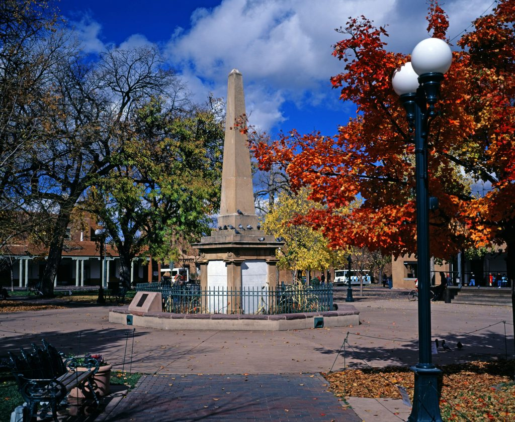 A park in Santa Fe.