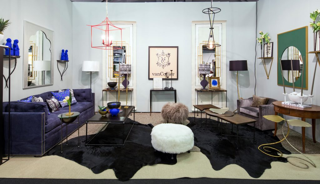 The van Collier collection at the Furnish exhibition.