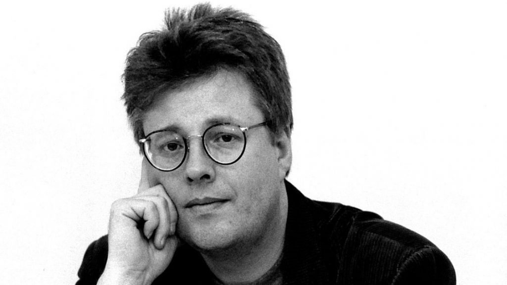 A photo of Stieg Larsson.