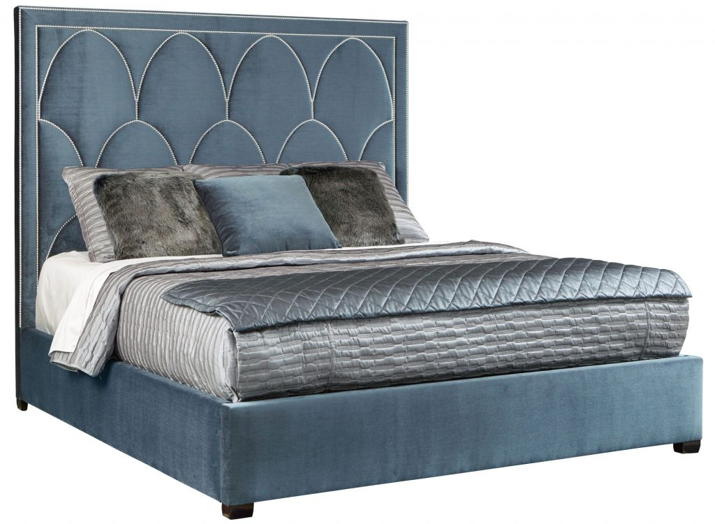 The Art Deco luxury bed Arista by Berhardt.