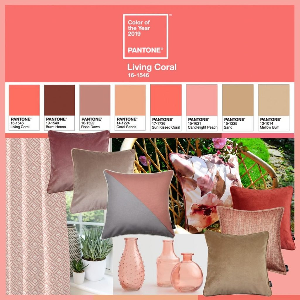 The Sympatico palette by Pantone is the pinkest palette in the series.