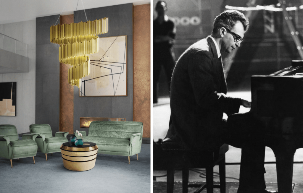 Delightfull was inspired by Dave Brubeck for the Brubeck spiral chandelier.