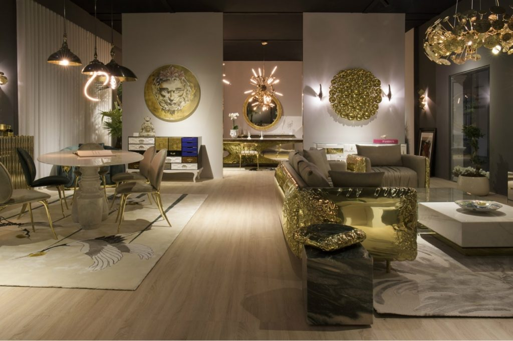 Another look at the showroom of Boca do Lobo which showcases their exclusive limited edition collection.
