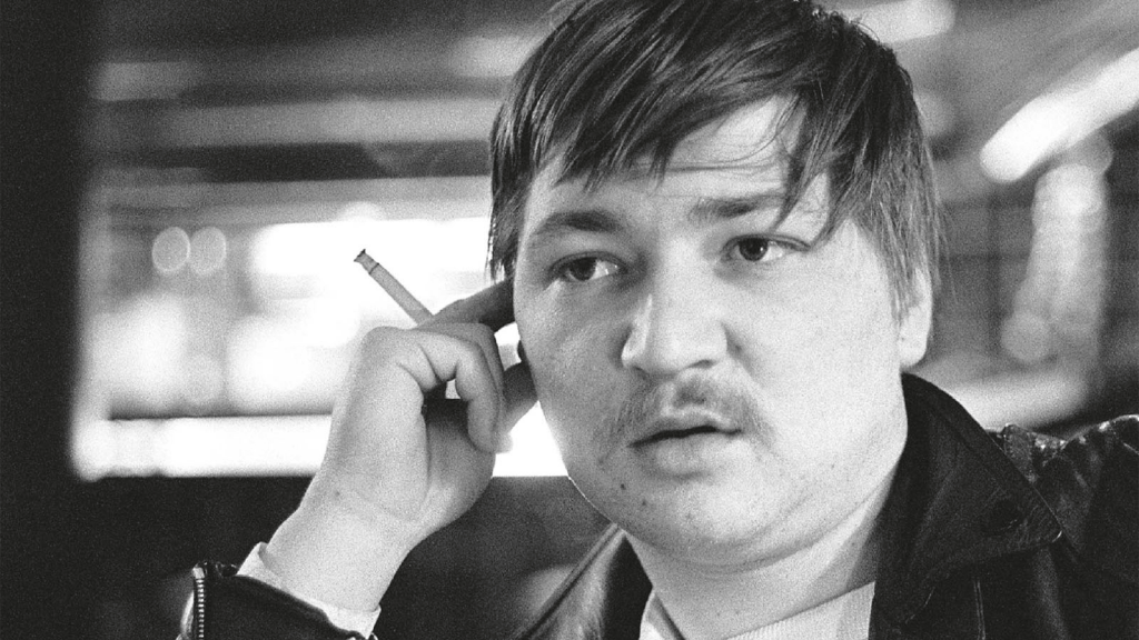 Fassbinder acting in his own movies.
