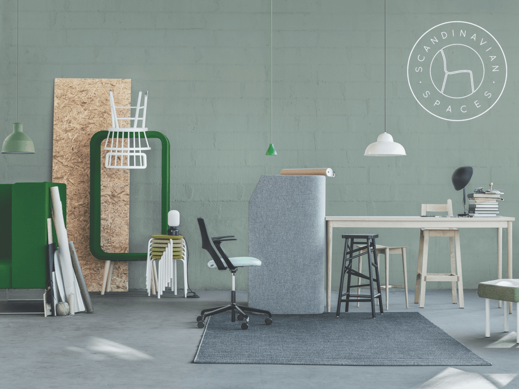 ICFF receives yearly more and more international brands like Scandinavian Spaces.