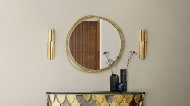 The Kayan bathroom mirror by MAison Valentina is pat of the bathroom accessories you need in your life!
