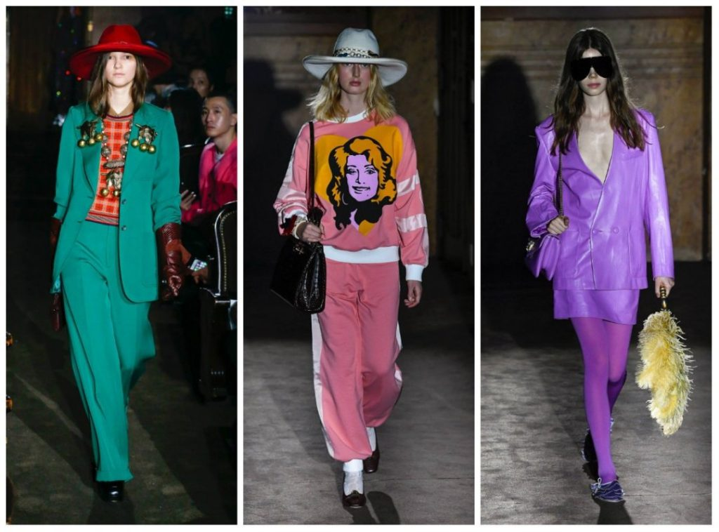 The ultimate fashion trends include colorful suits.