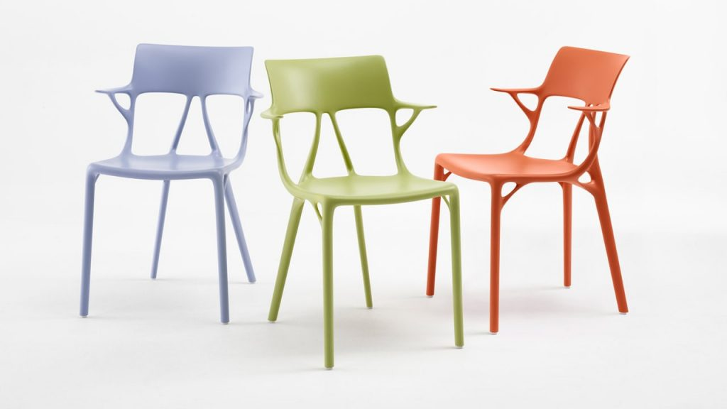 The Chair designed by AI is one of the biggest highlights at Salone del Mobile.