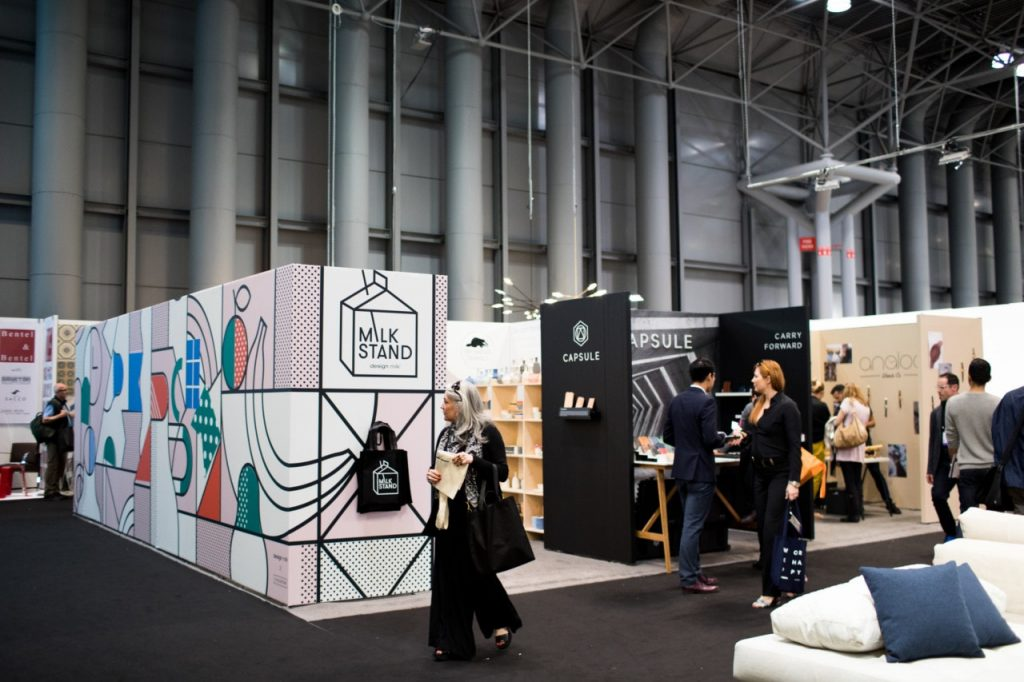 The Milk stand is the ICFF stand you don't want to miss, not only do you get to see amazing designs, you can also take them home.