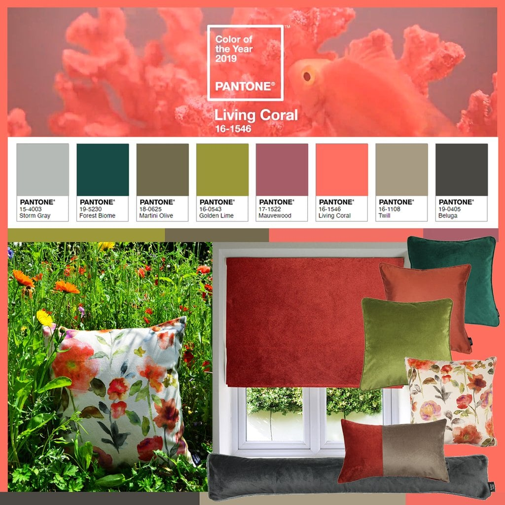 The Focal Point palette by Pantone.