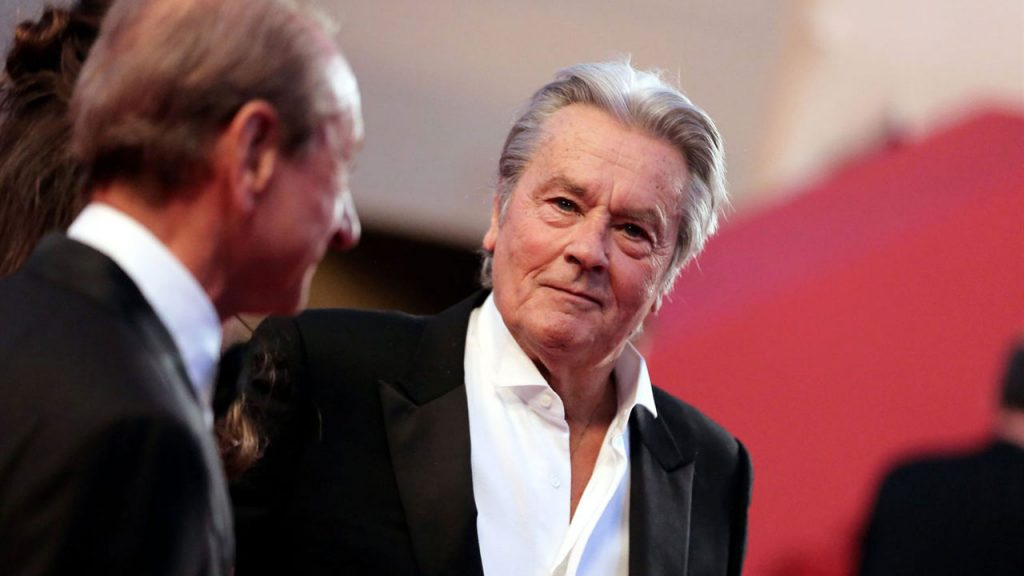 Alain Delon will receive the Honorary Palm d'Or this year at the Cannes Film Festival.