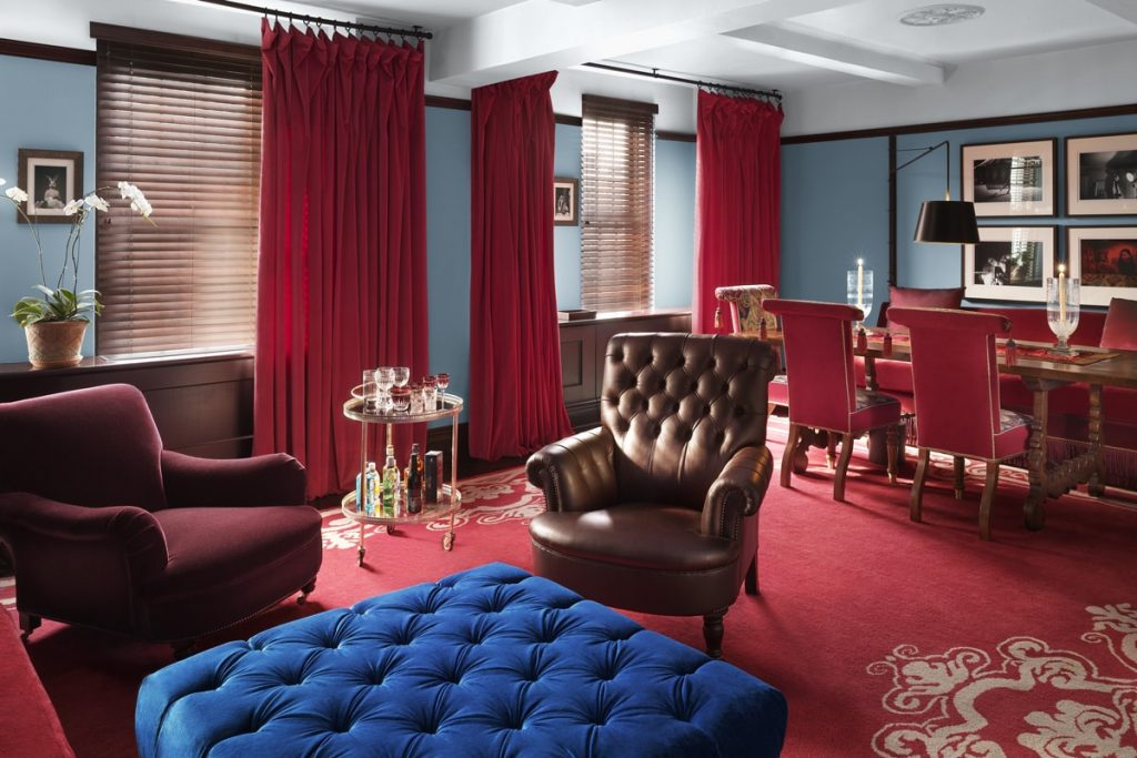 A room in the Gramercy Park hotel is the utmost luxury experience in New York City.