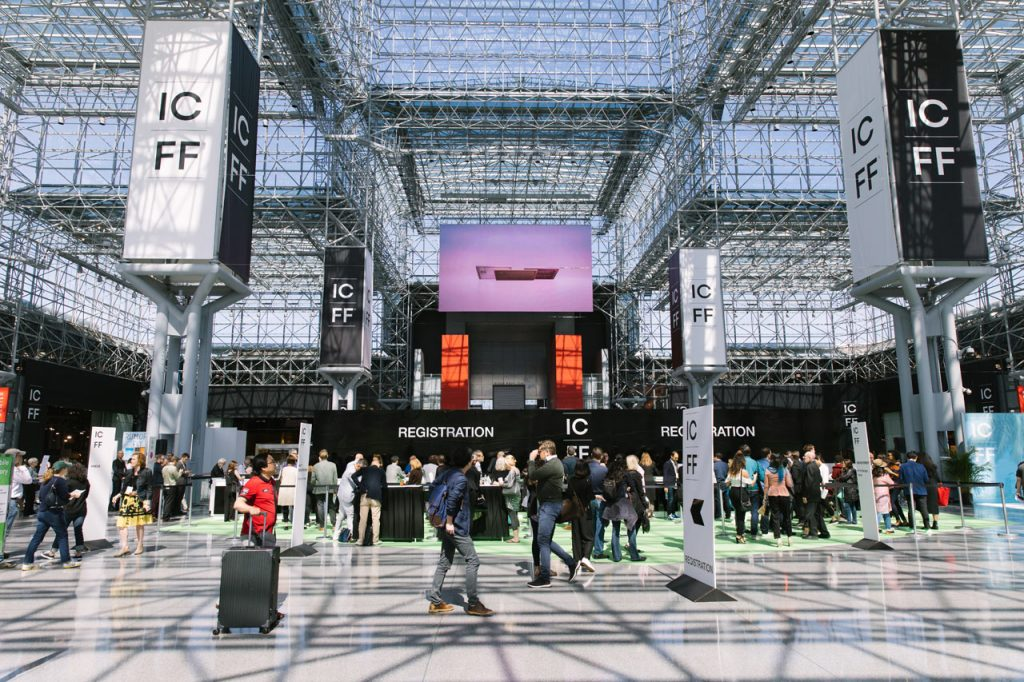ICFF is the highlight of the design event NYCxDESIGN.