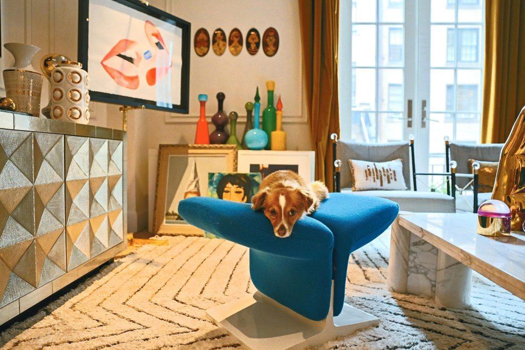A sneak peek in the luxury home of Jonathan Adler.
