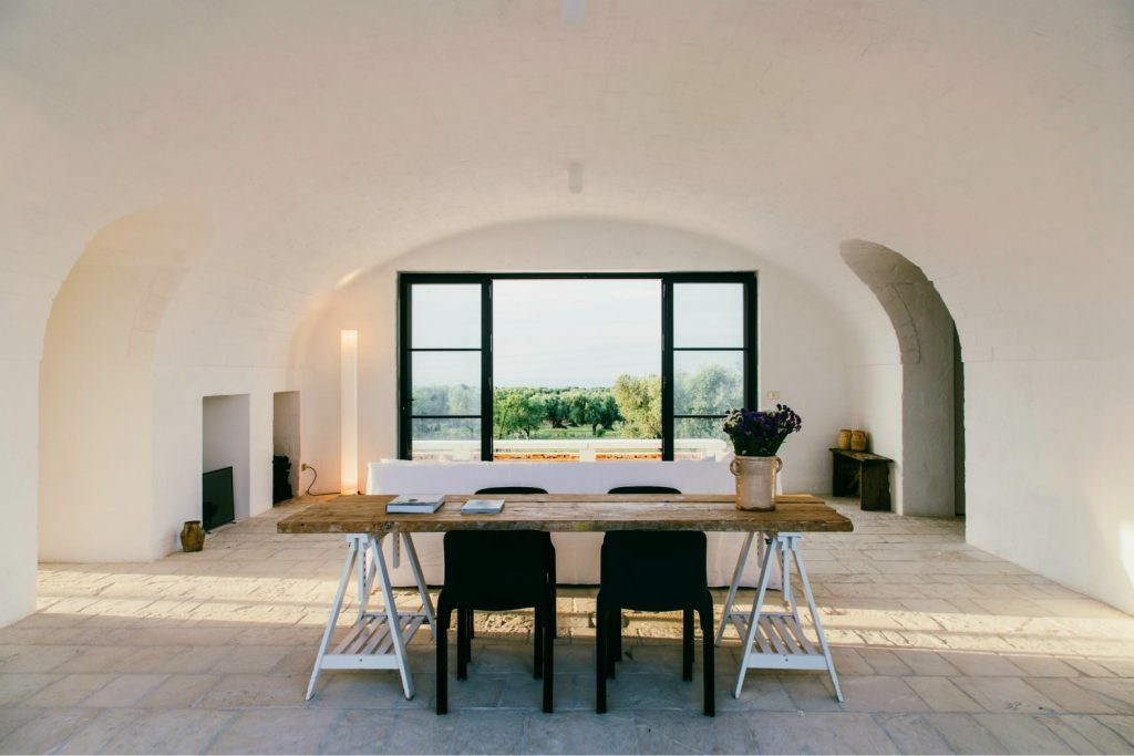The summer trend of recycled interiors in action in this beautiful home in Puglia, Italy