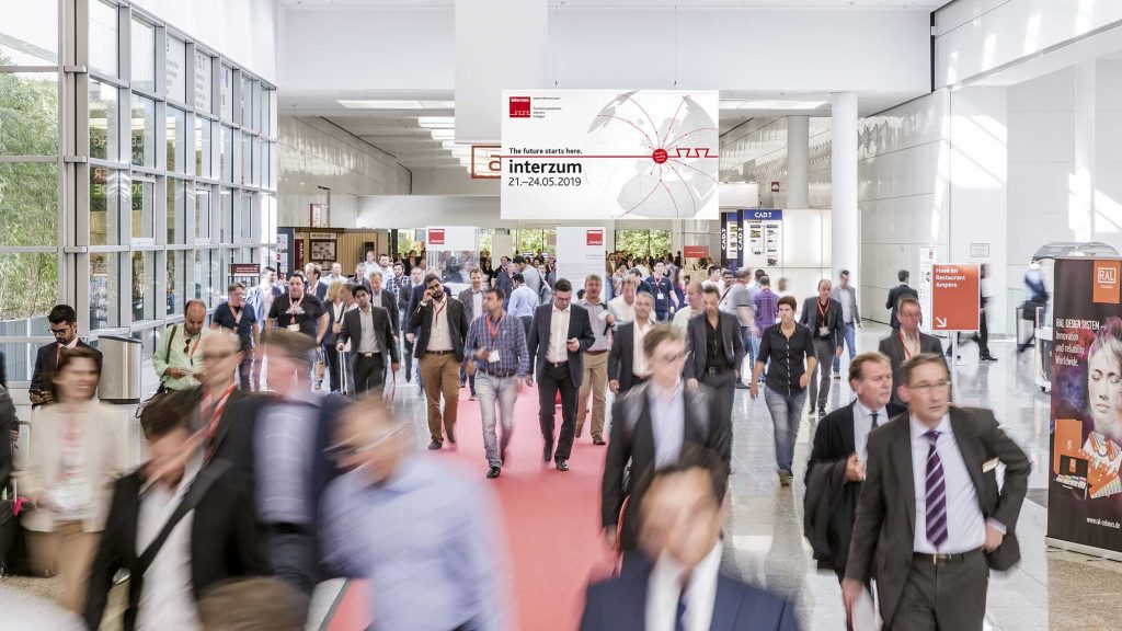 The Interzum Kôln design event is a great platform for doing business.