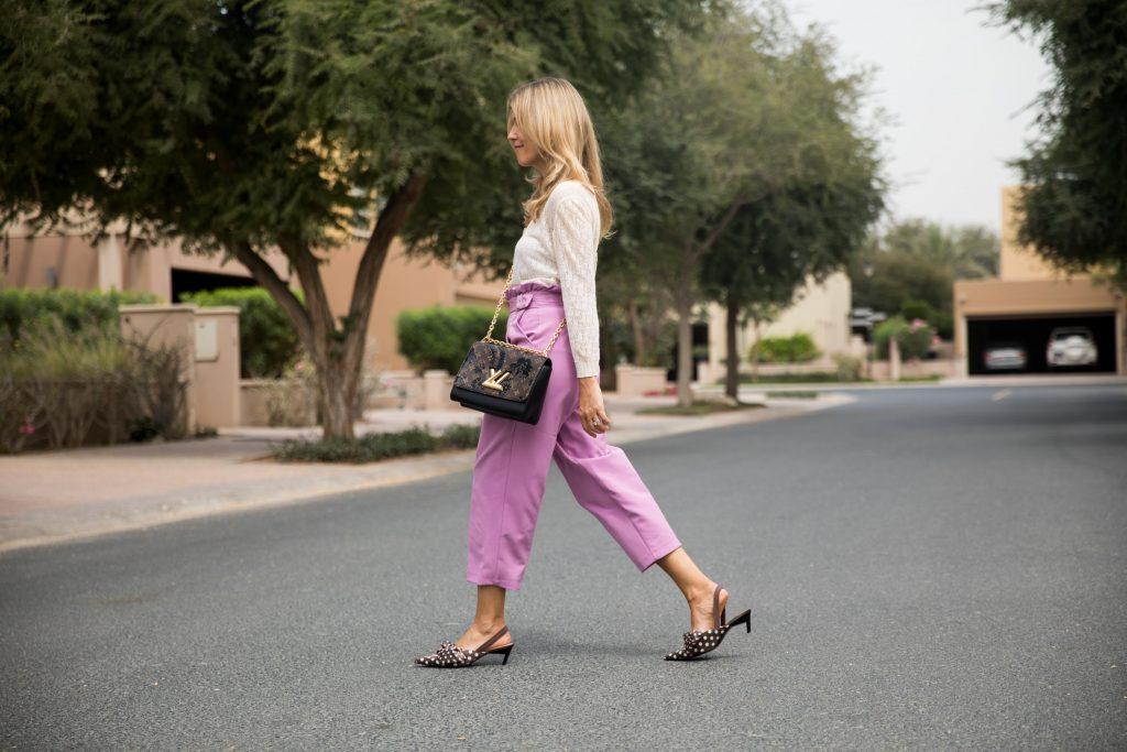 Summer fashion colour is lavender.
