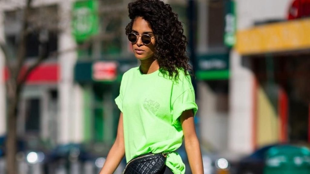 Neon green is still here this summer.