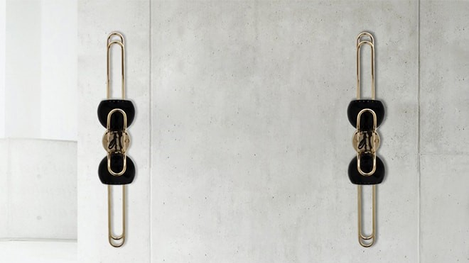 The newest addition to the Delightfull collection is the Neil wall lamp.