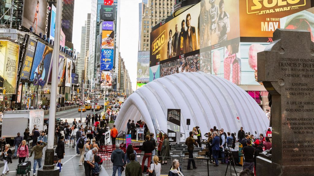 The NYCxDESIGN is the design event in New york in May.