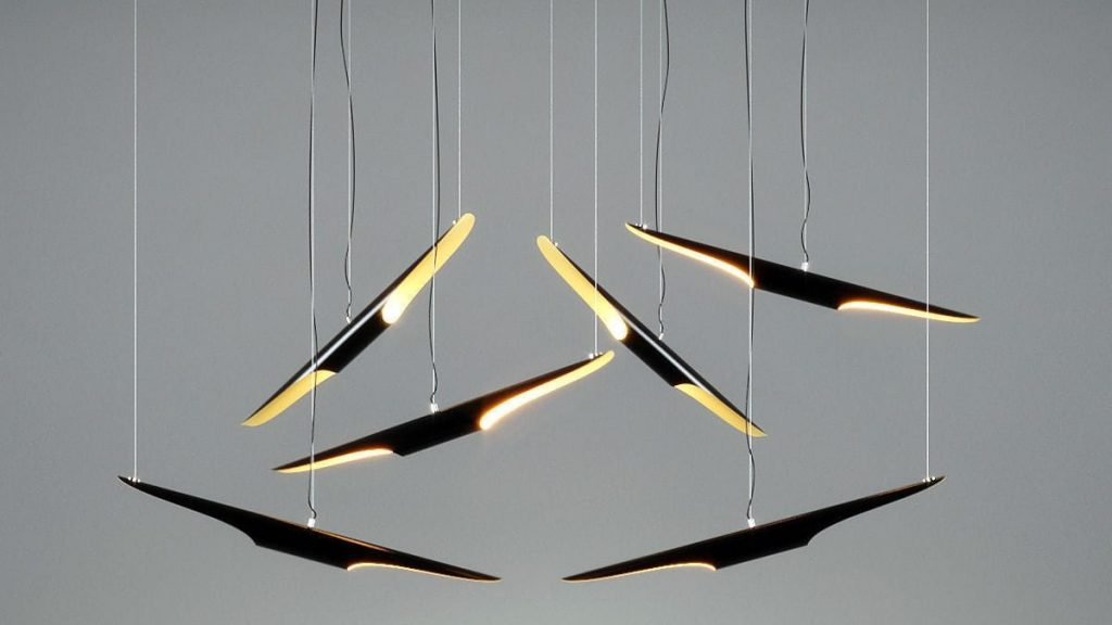 The coltrane suspension lamps by Delightfull are a bestseller.