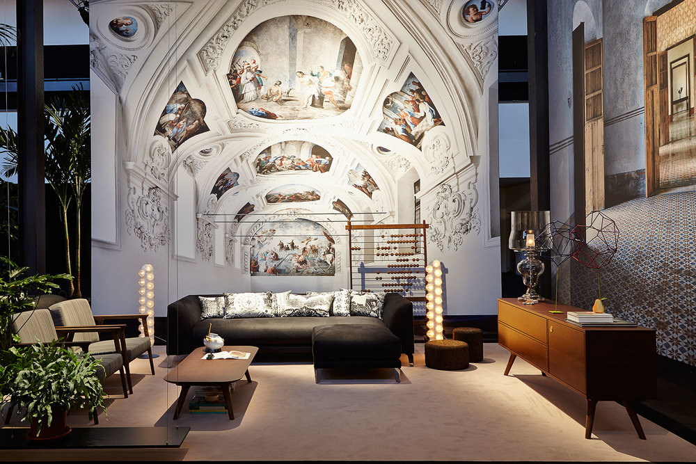 Marcel Wanders living room design