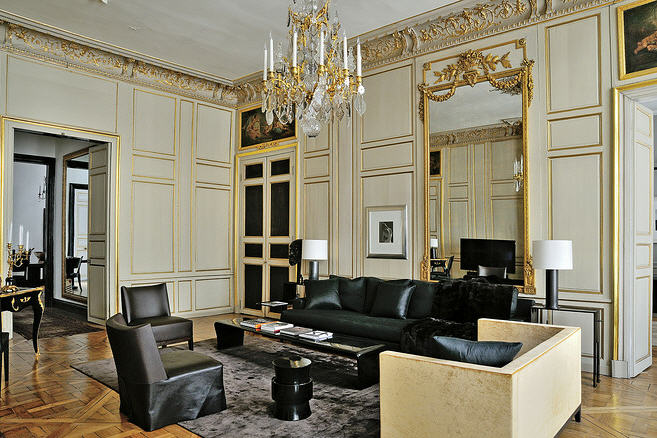 Christian Liaigre wonderful living room design