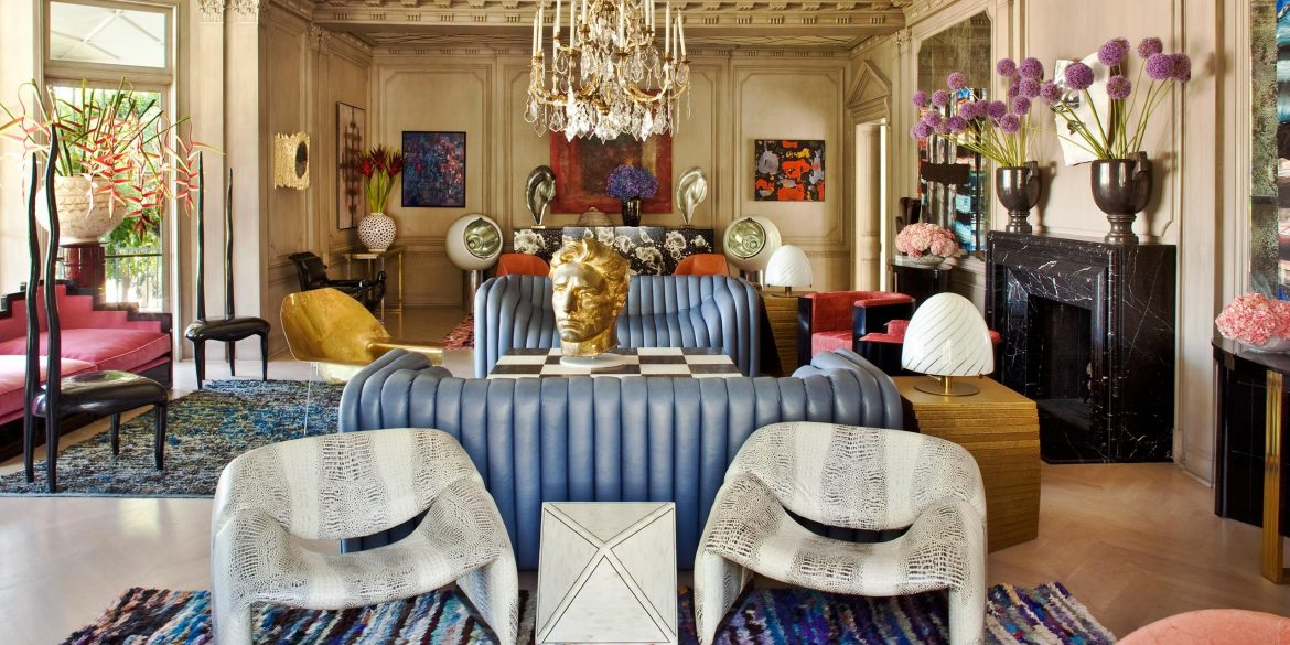 Kelly Wearstler Luxury Living Room