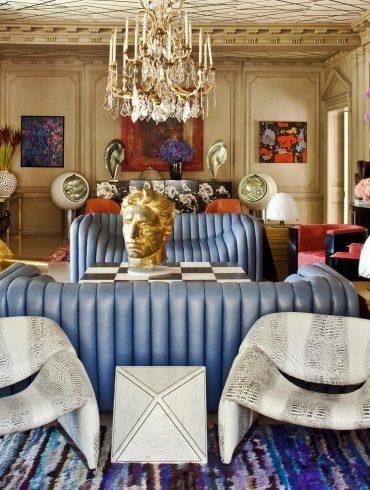 Kelly Wearstler Luxury Living Room