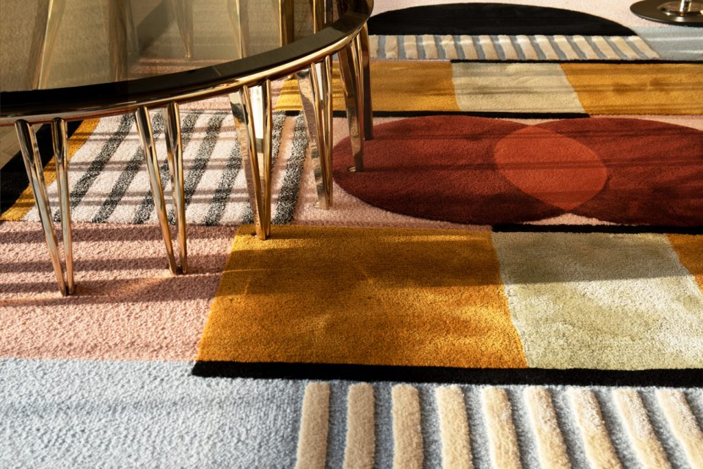 Retro collections of DelightFULL, Essential Home and Rug Society