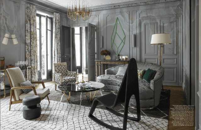 Jean-Louis Deniot  living room design