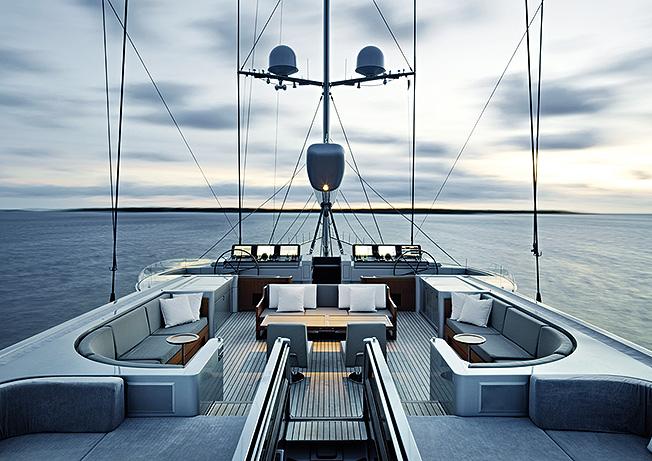 Christian Liaigre wonderful yacht design