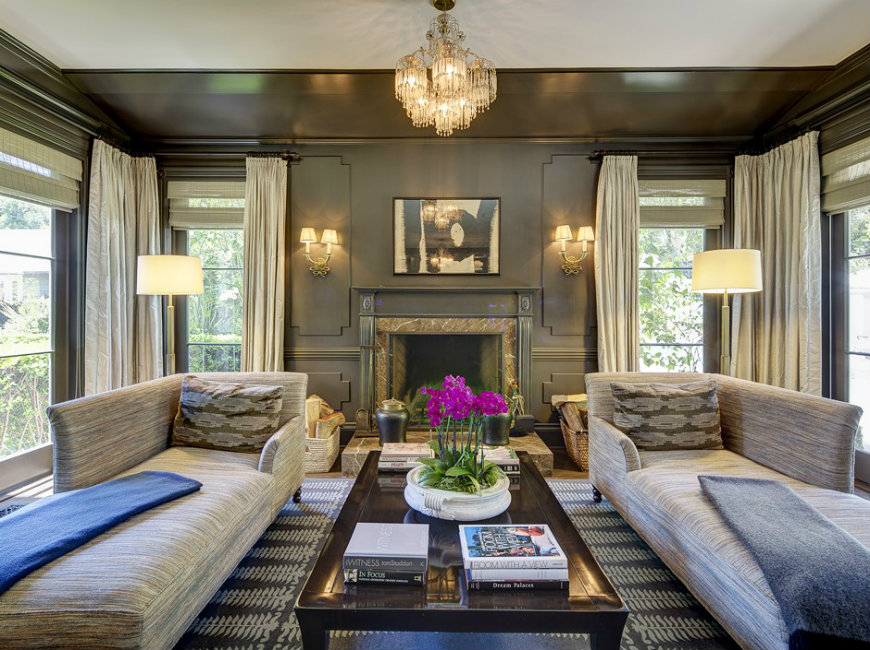 Kelly Wearstler living room design