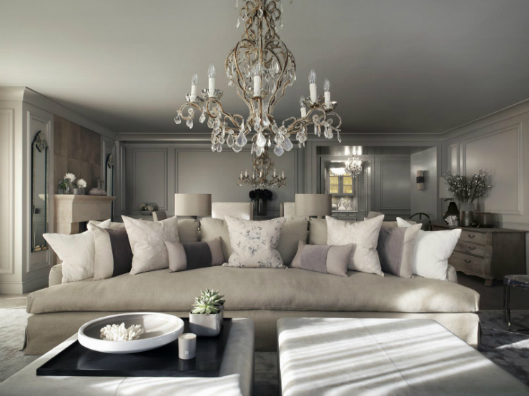 Chalet in Switzerland by Kelly Hoppen