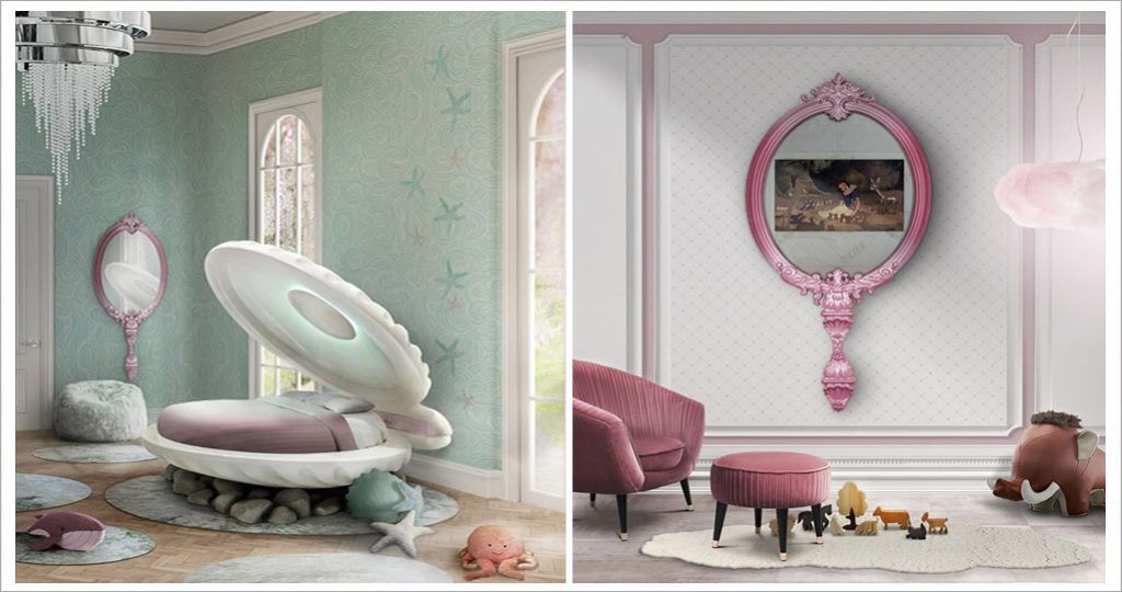 Little Mermaid is a shell bed created by Circu, inspired by Disney's Princess Ariel