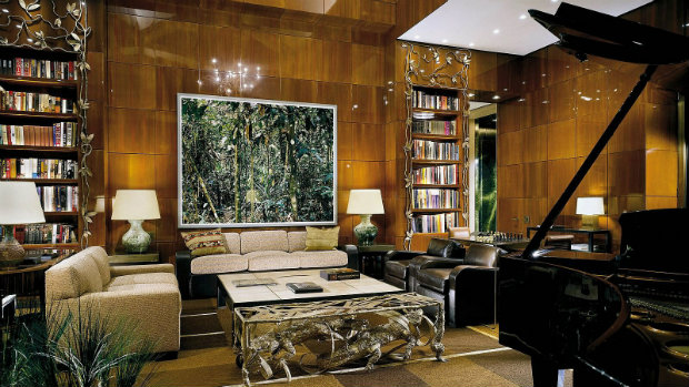 PETER MARINO living room design