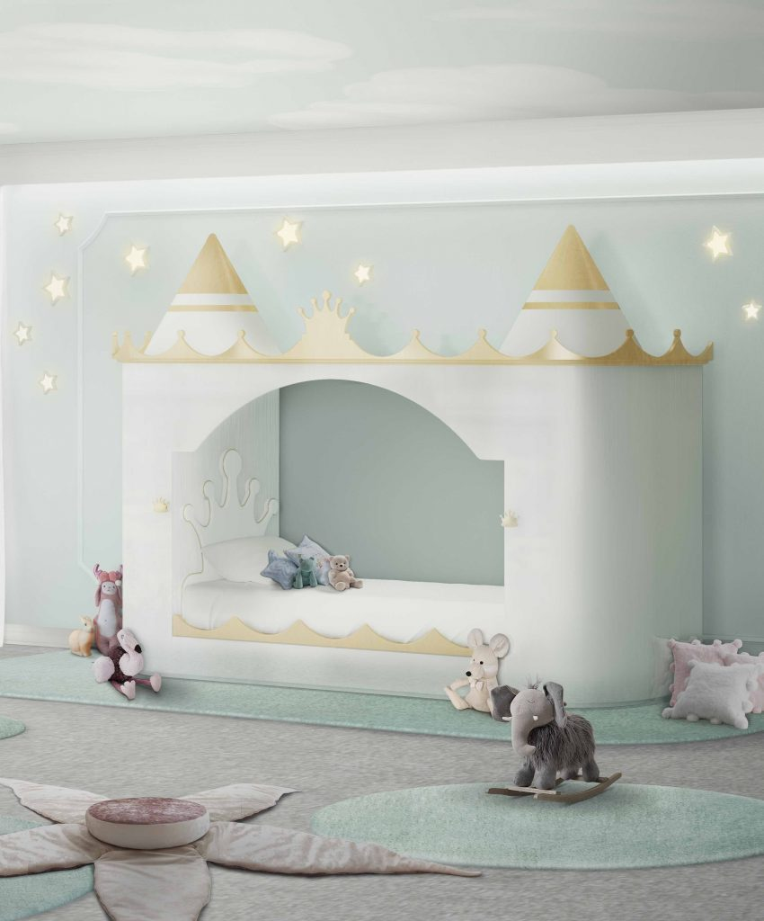 King's and Queen's Castle created by Circu will delight any child in love with fairytales, being the center of their mystical adventures.