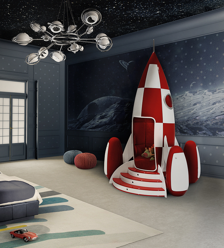 Rocky Rocket interactive chair created by Circu