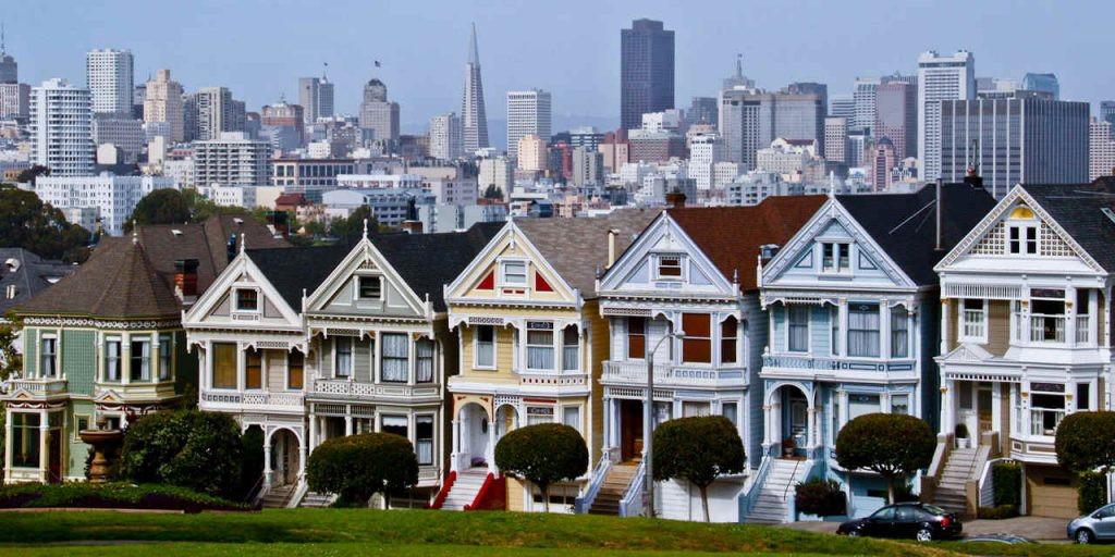 Cute houses of San Francisco