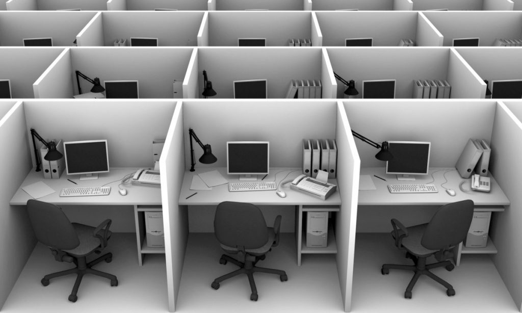 'The benefit and disadvantage of open working environments' by De Architect