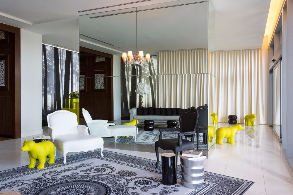 PHILIPPE STARCK living room design