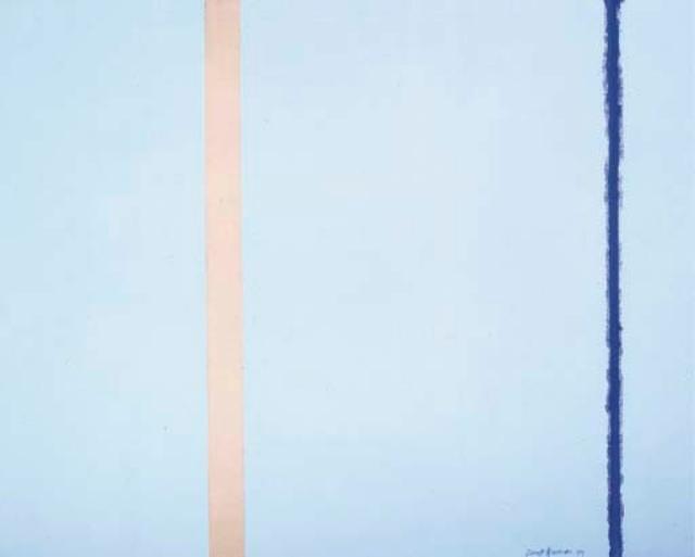 """White Fire I"" - Barnett Newman"