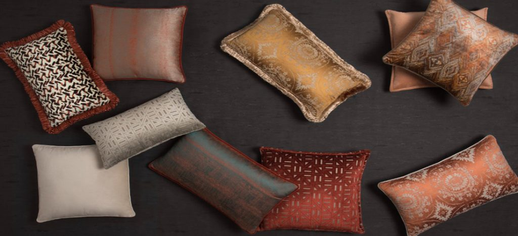Pillows in the interior as bright accents