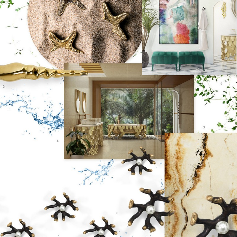 Maison Valentina's bathroom project/moodboard